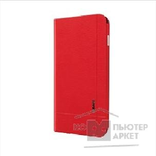 Чехол Ozaki O!coat Aim + Leather folio case with pocket for iPhone 6. Red OC564RD