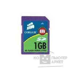 Карта памяти  Corsair  SecureDigital 1Gb Corsair, 60x, CMFSD60-1Gb