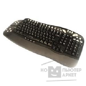 Клавиатура Oklick 780L Multimedia Keyboard USB + USB порт черный