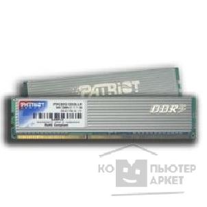 ������ ������ Patriot DDR-III 4GB PC3-10666 1333MHz Kit 2 x 2GB  [PDC34G1333LLK]