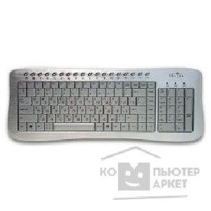 Клавиатура Oklick 380M Multimedia Keyboard USB порт аллюминий